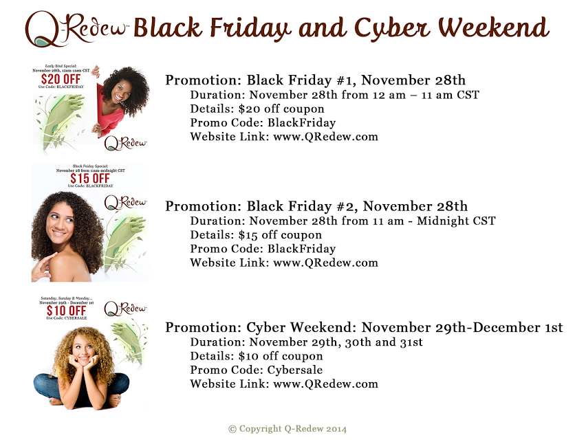 Black Friday And Cyber Monday Deals Natural Hair Companies