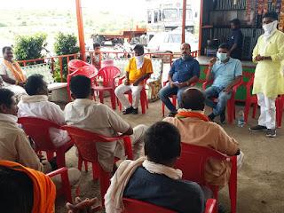 मध्य प्रदेश में बीजेपी की  सरकार के चौथा कार्यकाल के 100 दिन की विभिन्न योजनाएं बताई