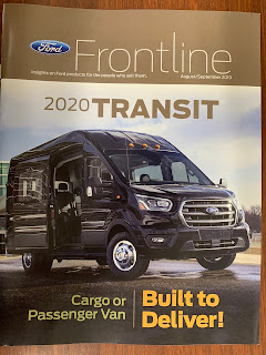 Ford Frontline 2020 Transit Cover