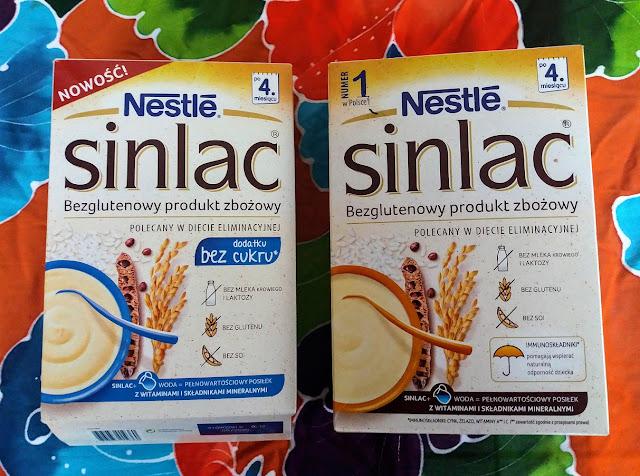 Nowy Sinlac i Sinlac bez cukru - recenzja.