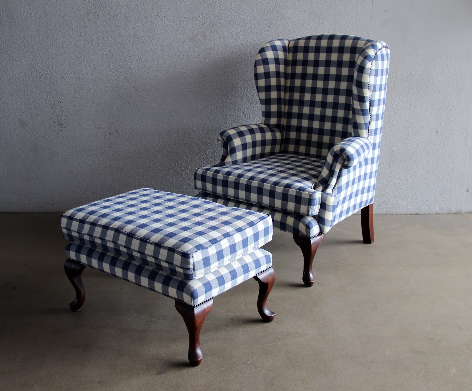 Gingham Chair Reproducing Some Of The Best Of Midcentury Furniture While
