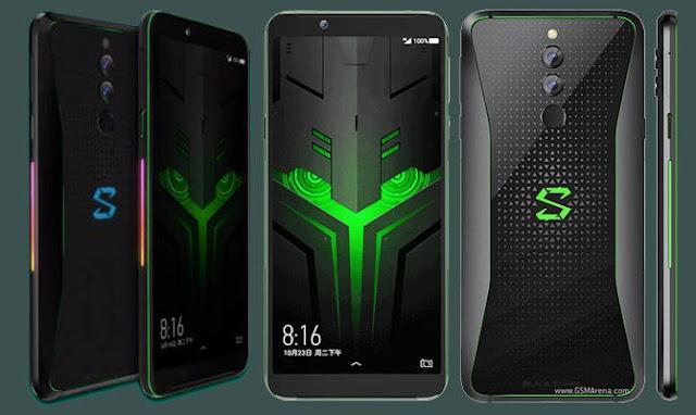 Xiaomi Black Shark Helo Meluncur dengan RAM 10 GB