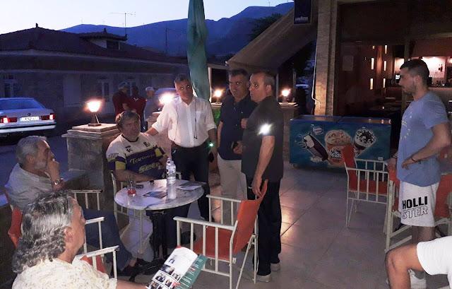 Συνεχίζονται οι επισκέψεις του Ανδρέα Πουλά σε χωριά της Αργολίδας (πρόγραμμα για Παρασκευή και Σαββάτο)