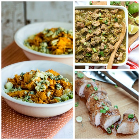50 MORE Great Low-Carb Slow Cooker Dinners featured on SlowCookerFromScratch.com