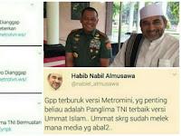 Habib Nabil: Gpp Terburuk versi Metromini, Beliau Panglima Terbaik versi Ummat Islam