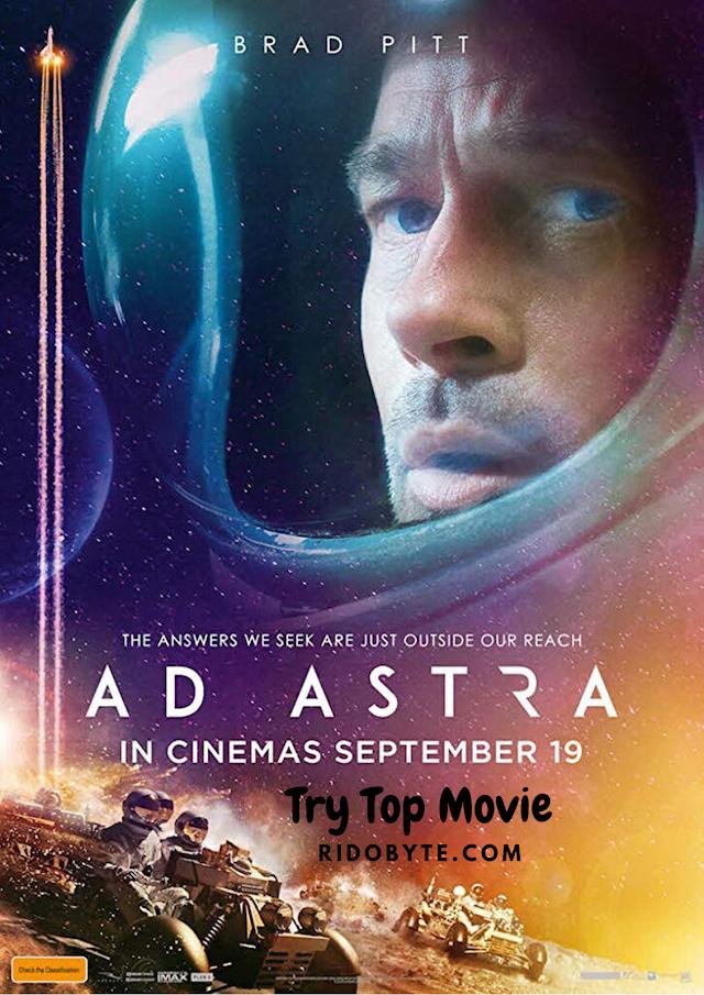 ✔️ Ad Astra (2019) ✔️ English 720p HD CAMRip x264 | Full Movie Download 👌