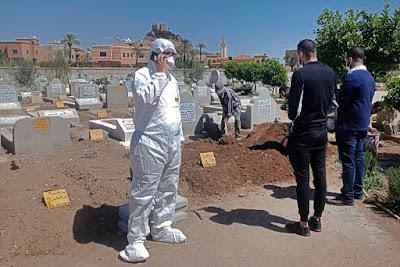 Maroc- Les funérailles sont toujours interdits et la cérémonie d'enterrement ne doit pas dépasser ce nombre de personnes- MAP