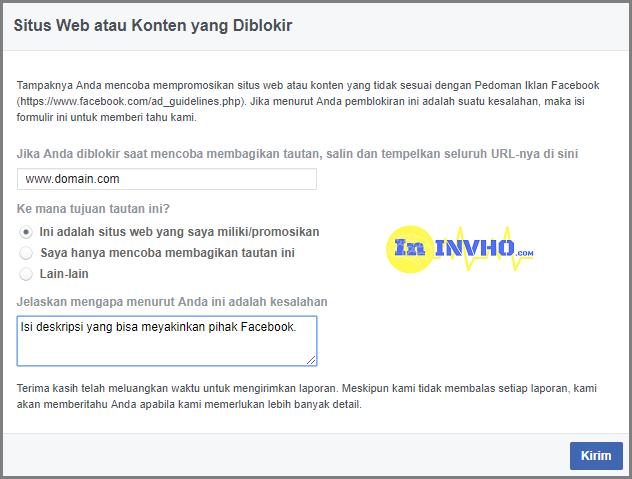 Link yang di Blokir Facebook