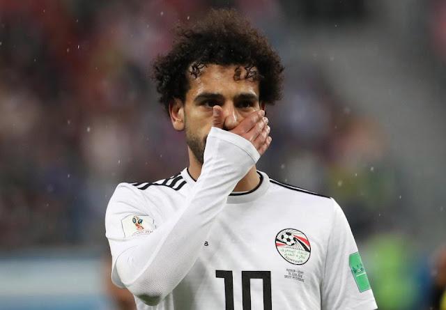 Salah buồn rầu lên tiếng sau khi bị loại ở World Cup