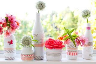 Cara Membuat Kerajinan Tangan Yang Mudah, Vas Dari Botol Bekas 6