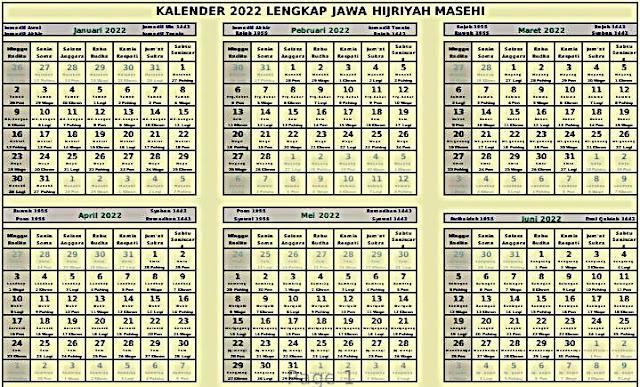 download kalender 2022 cdr lengkap jawa hijriyah