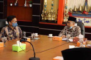 Kadis Kominfo Lampung Terima Kunjungan Anggota DPD RI
