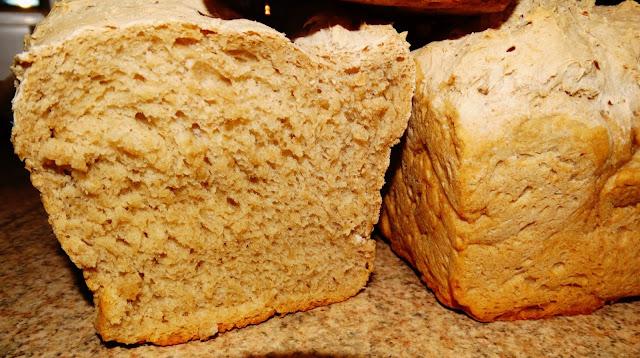 Chleb z żytniej mieszanki