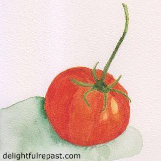 Tomato Galette / www.delightfulrepast.com