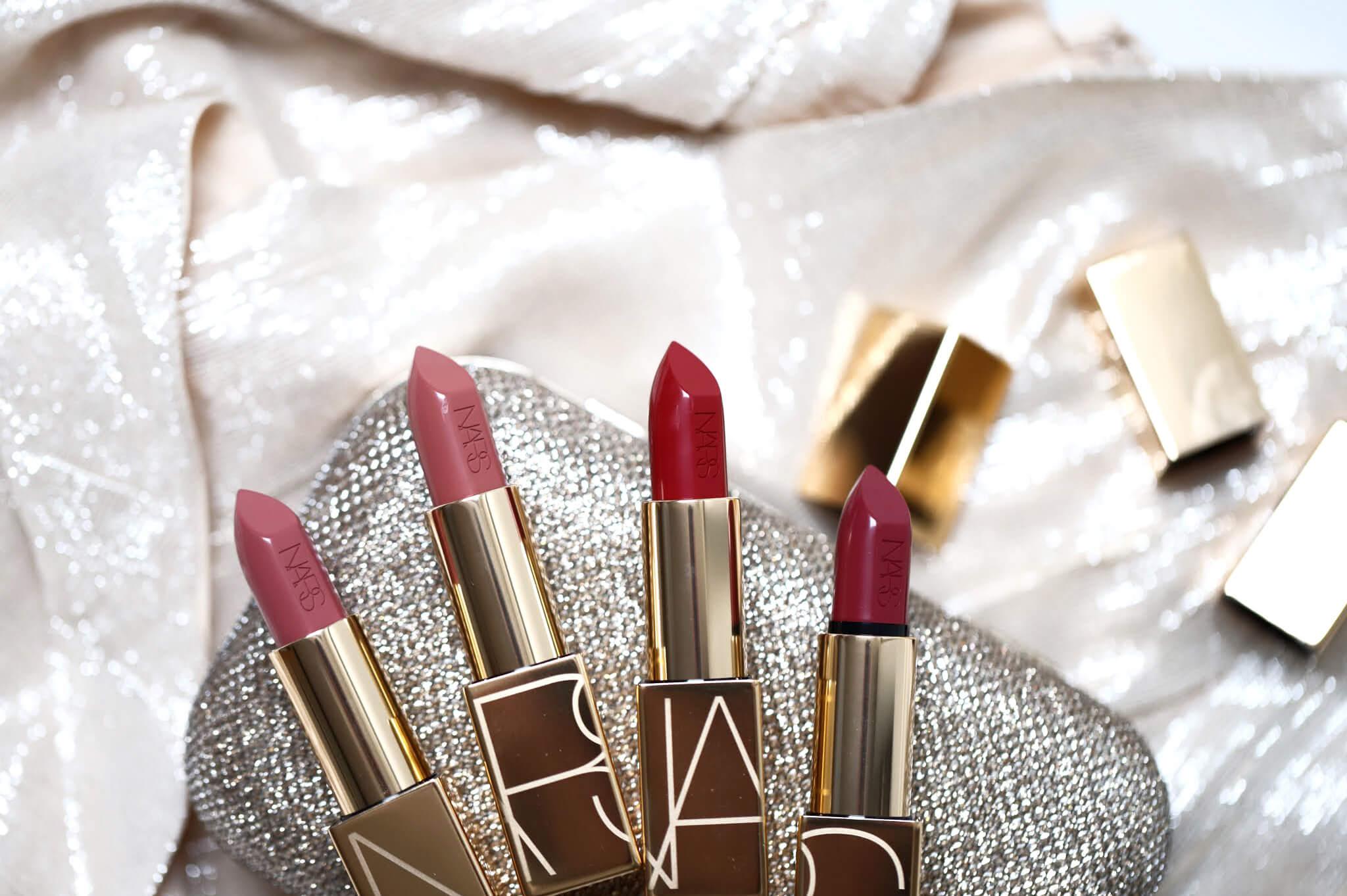 Nars VIP Audacious Lipstick Audrey Anita Rita Barbara