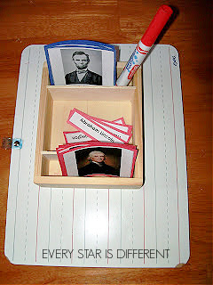 Presidents Nomenclature Cards