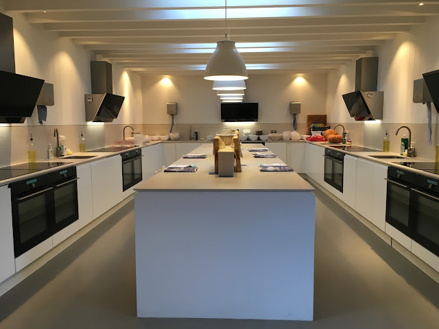 inside the woodspeen cookery school