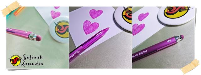 Koleksi Alat Tulis | Ball Pen Untuk Menulis Nota Atau Mencatat | Review dan Kelebihan Ball Point Pen Mengikut Jenama Alat Tulis - Paper Mate Inkjoy Stylus