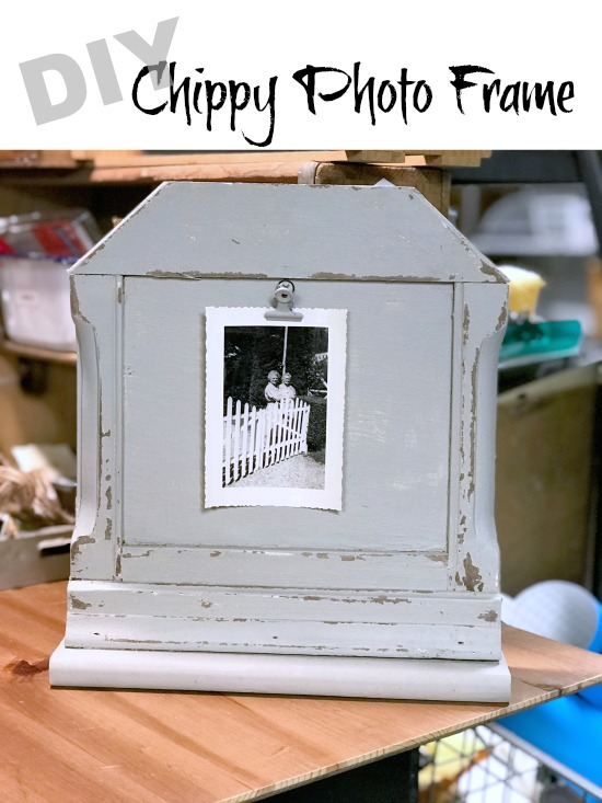 How to Make a Unique DIY Chippy Photo Frame