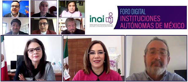 Las instituciones autónomas han reconfigurado la vida pública del país: INAI