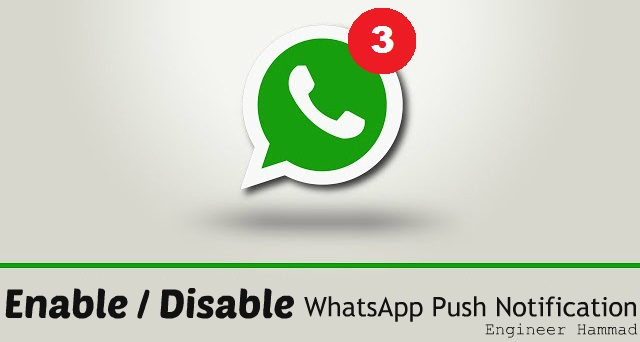 Fix Whats App Push Notification