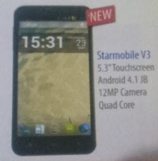 Starmobile Diamond V3, Free At Sun Plan 600