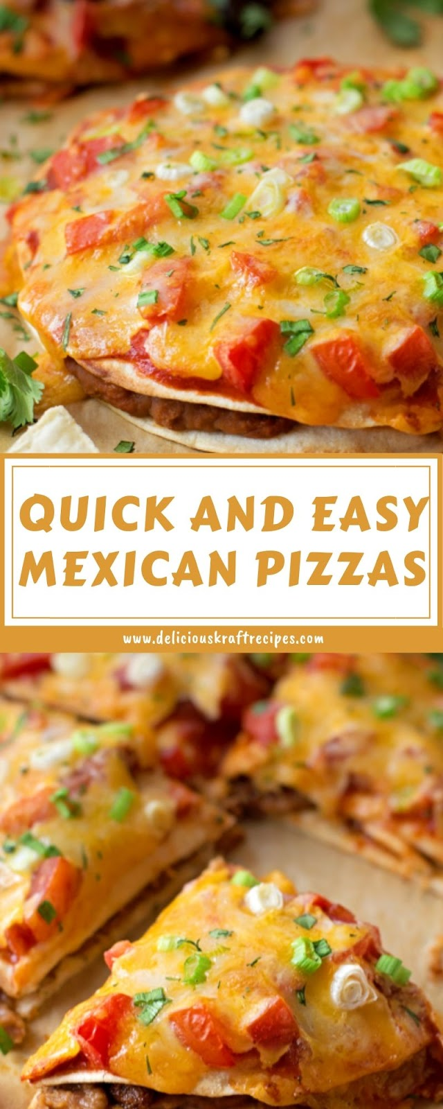 QUICK AND EASY MEXICAN PIZZAS