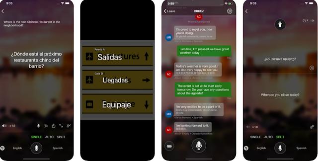 تحديث Microsoft Translator لنظام iOS