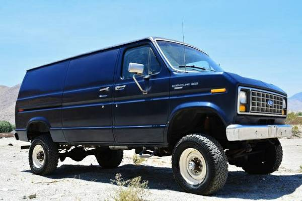 Ford Cargo Van For Sale >> 1989 Ford F350 Cargo 4X4 Van - 4x4 Cars