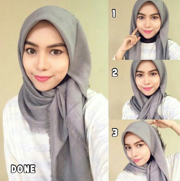 Gaya Hijab Wisuda Kekinian Hijabfest