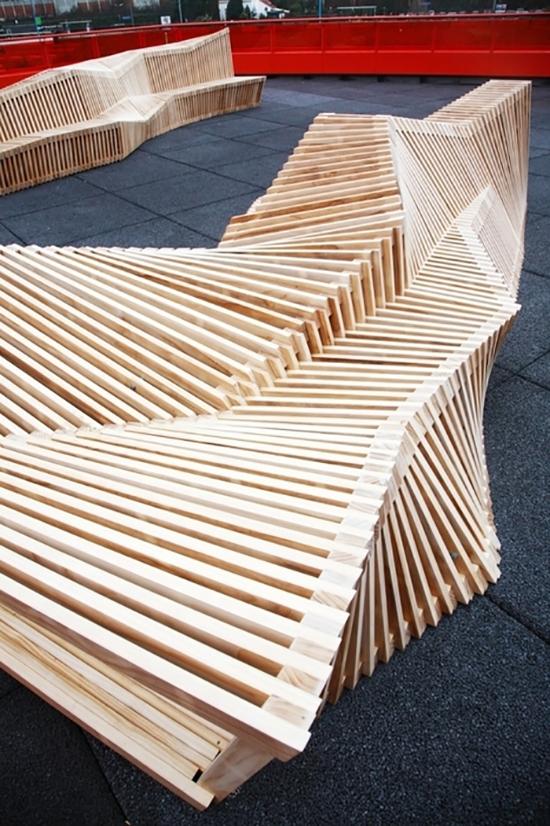 8 gambar desain inspiratif kursi taman dengan desain atraktif