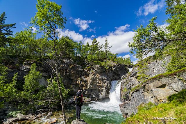 Rio Ula en el sendero de Mysusaeter a Otta, Rondane - Noruega, por El Guisante Verde Project