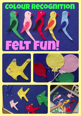 Toddler Felt stories and games