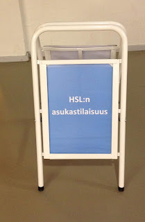 HSL:n opaste asukastilaisuuksissa.