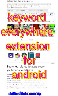keyword everywhere extension for android