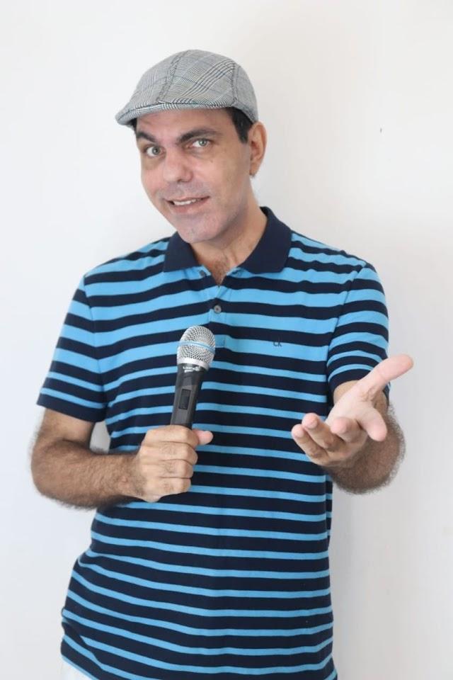 Gilberto Romano estreia novo programa em rede internacional de TV junto com cantora