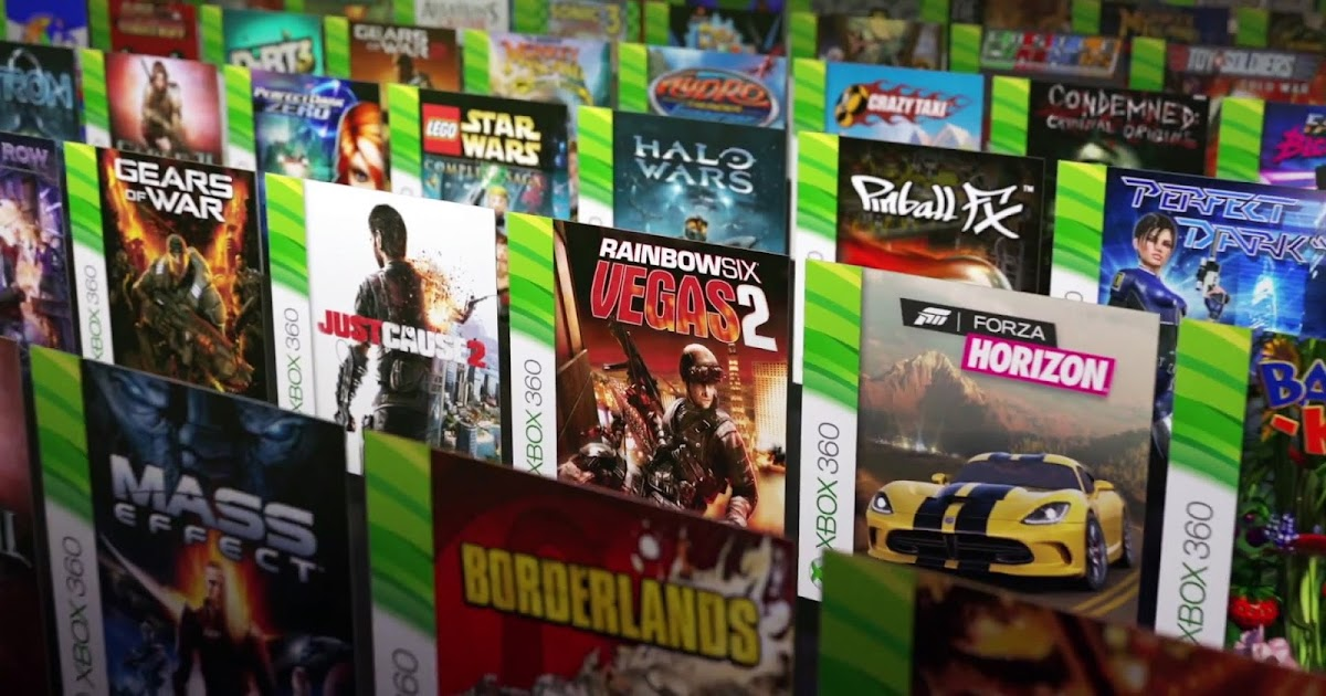 List Of Xbox One Backwards Compatible Games
