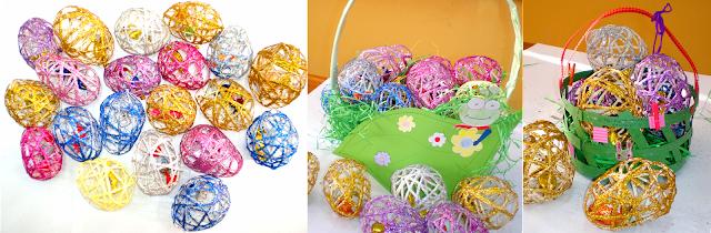 Ouă decorative pentru Paşte