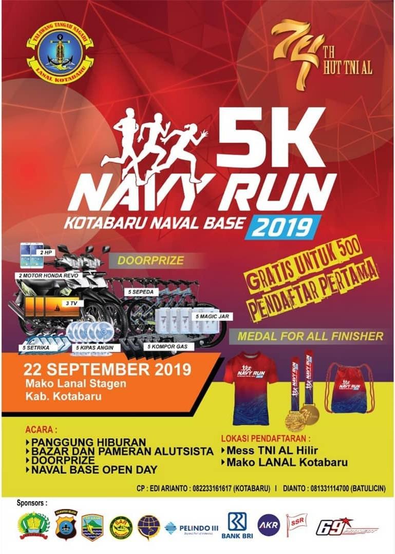 Navy Run 5K • 2019