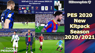PES 2020 New Kitpack v1.1 AIO Season 2020/2021 by Milwalt