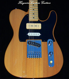 image results for a Nashville custom shop Telecaster from the Haywire Custom Guitars Custom Shop in South Carolina