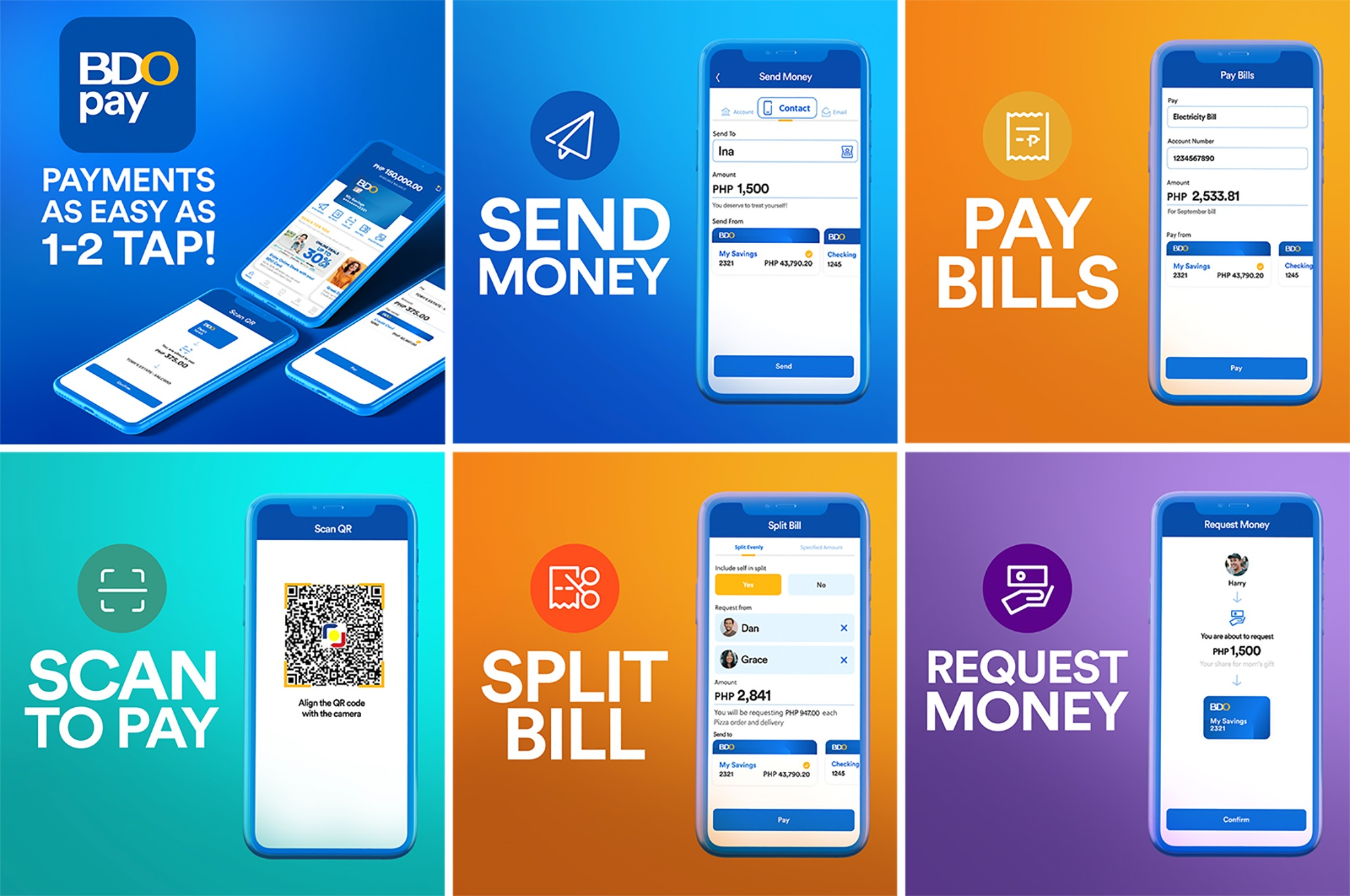 BDO PAY: Features Allow Clients to Manage Finances Easily