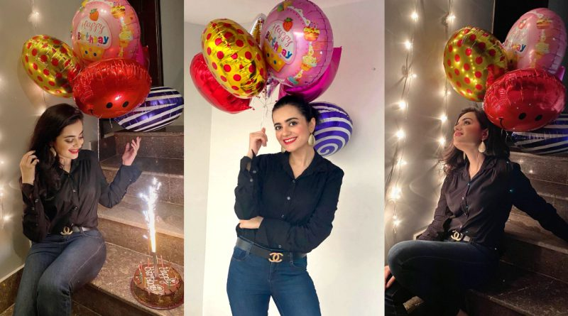 Kompal Iqbal Looking Magical from her Birthday