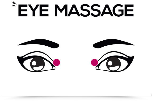 titik akupresor mata di sudut dalam mata
