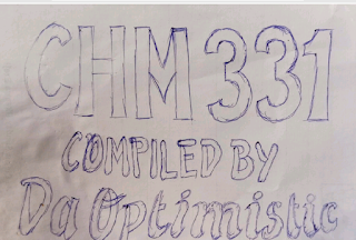 Download CHM331 (Organic Chemistry) Complete Note And Past Questions