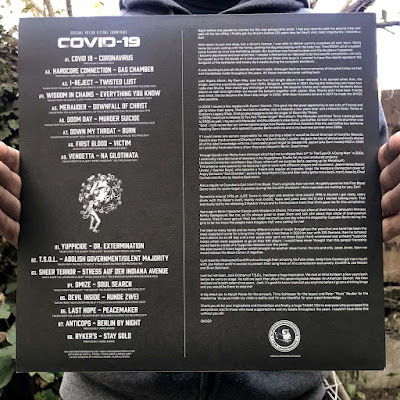 Covid 19 Album back cover