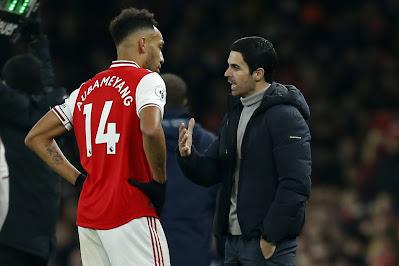 'I want to build my squad around Aubameyang: Arsenal Boss Arteta