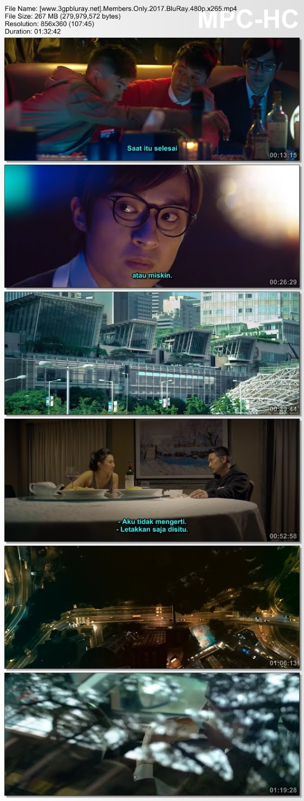 Screenshots Download Si Ren Hui Suo (2017) BluRay 480p & 3GP Subtitle Indonesia