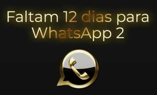 imagen sobre el lanzamiento de whatsapp 2 que circuló en twitter