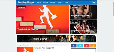 Responsive Blogger Template Gratis